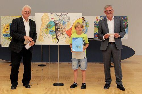 Gewinner-Foto, Bild Platz 1, 10 bis 12 Jahre, Umwelt-Zeichnungswettbewerb 2018