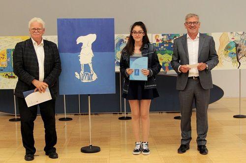 Gewinner-Foto, Bild Platz 1, 13 bis 16 Jahre, Umwelt-Zeichnungswettbewerb 2018