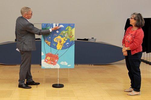 Gewinner-Foto, Bild Platz 2, 6 bis 9 Jahre, Umwelt-Zeichnungswettbewerb 2018
