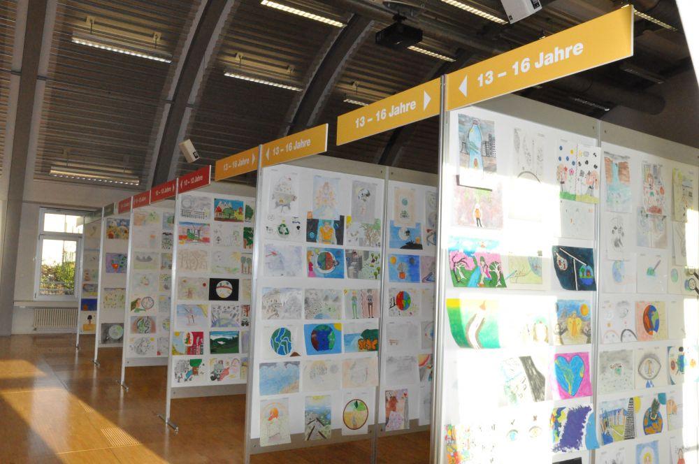 Jurierung, Thema Die Welt – hier bin ich zuhause, Umwelt-Zeichnungswettbewerb 2018