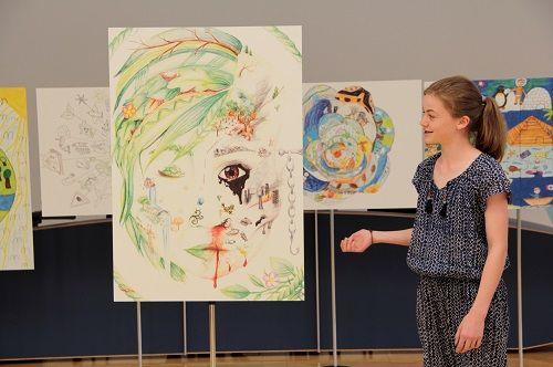 Prämierung, Thema Die Welt – hier bin ich zuhause, Umwelt-Zeichnungswettbewerb 2018