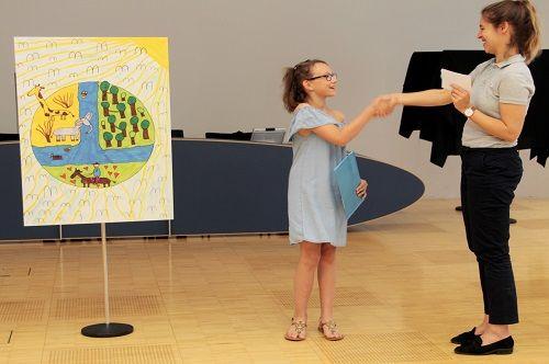 Gewinner-Foto, Bild Sonderpreis Sarasin, 10 bis 12 Jahre, Umwelt-Zeichnungswettbewerb 2018