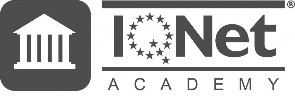 Logo IQNet Academy grau