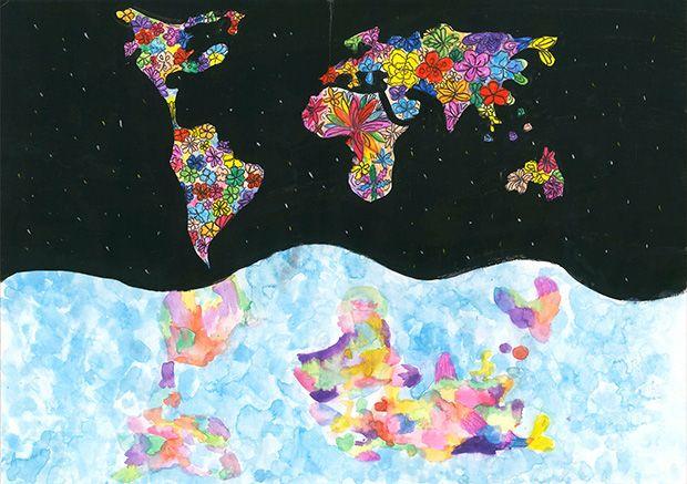 Gewinner-Zeichnung, Bild Sonderpreis Forum Biodiversität, 13 bis 16 Jahre, Umwelt-Zeichnungswettbewerb 2019