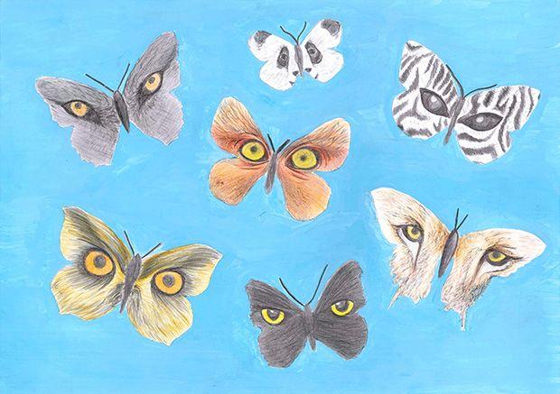 Gewinner-Zeichnung, Bild Sonderpreis IQNet, 13 bis 16 Jahre, Umwelt-Zeichnungswettbewerb 2019