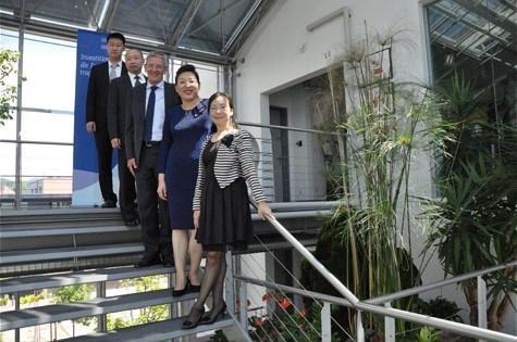 Chinesische Delegation bei der SQS