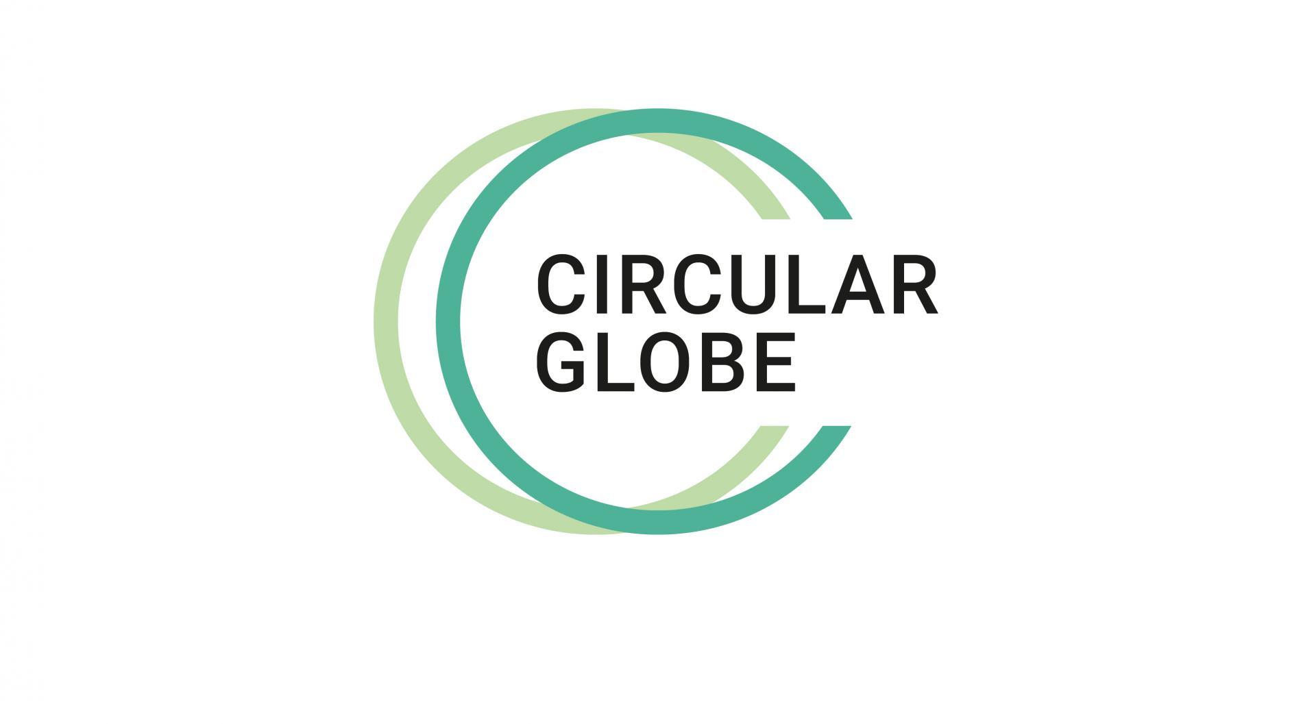 Logo Circular Globe, SQS, Label für die Kreislaufwirtschaft, nachhaltige Wirtschaftsform