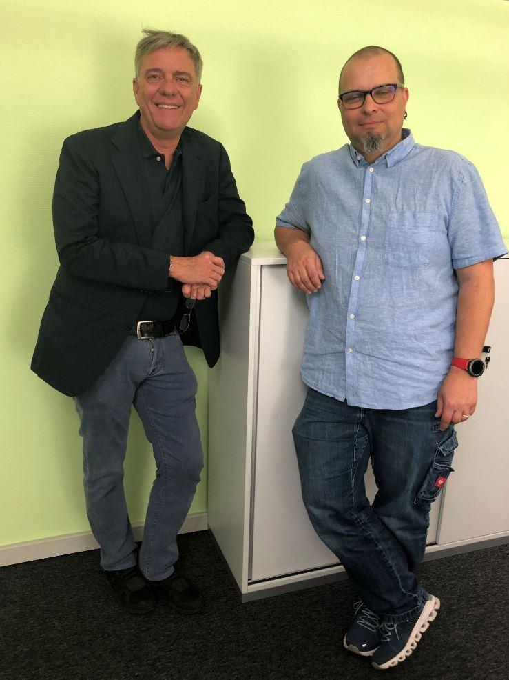 Dr. Tobias Thommen und Rolf Sonderegger